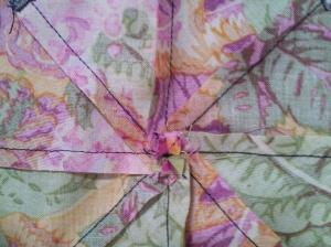 Center seam pinwheel