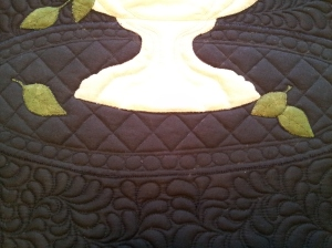 Elaine's quilt detail