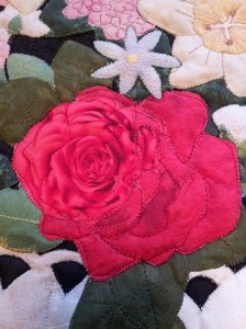 Elaine's rose detail