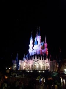 Magical color at Magic Kingdom!