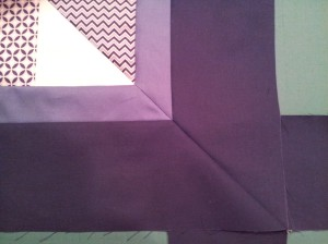 Mitered double border.
