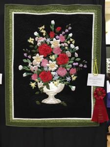 """Elaine's """"From Dad's Garden"""" quilt"""