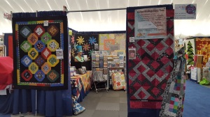 Wendt Quilting in Paducah From the side isle.