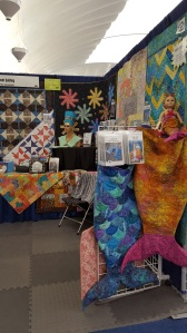 """Focus on Snuggle Tails And a look up to the """"bubble"""" airlock building. called the Pavilion where my booth was"""