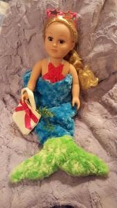 """""""Cuddle"""" Mermaid Doll"""