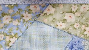 Close up of decorative stitching!